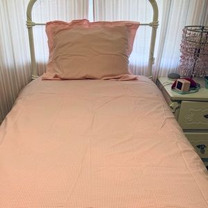 Pottery Barn Kids twin duvet cover and sham.